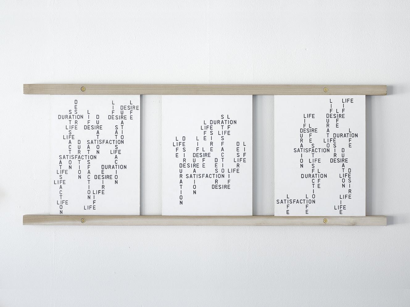 Benoit-Delaunay-artiste-installations-2013-A Set of Valuable Skills-Life-Desire-Satisfaction-Duration-10
